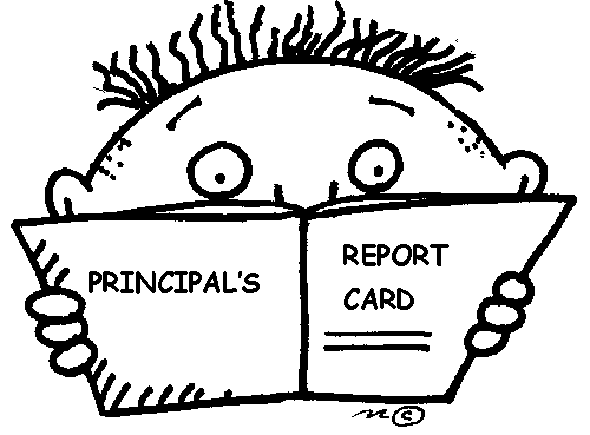 principals report card