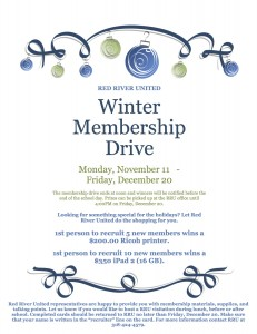 Membership drive_winter
